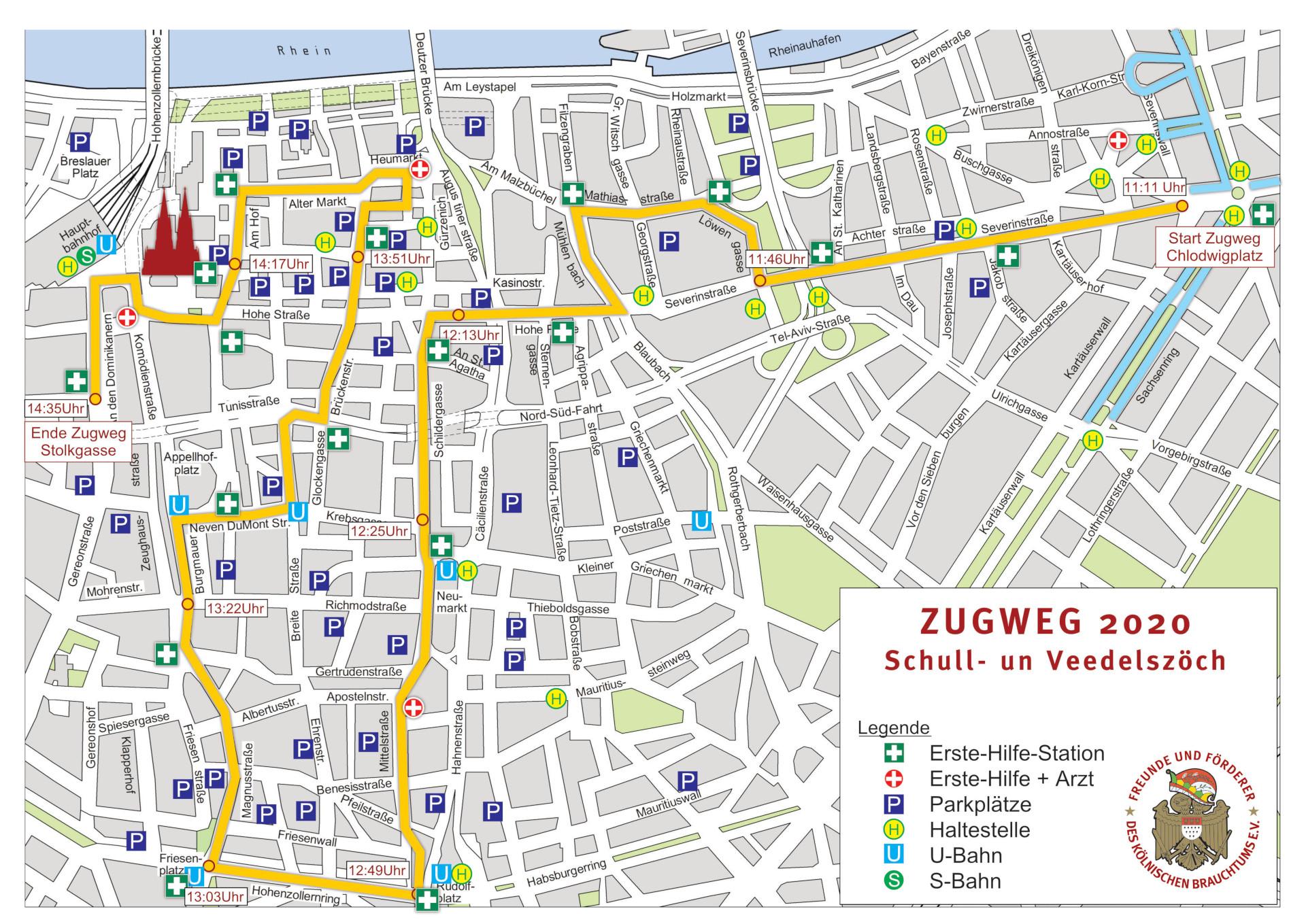 Schull Und Veedelszöch 2021 Zugweg